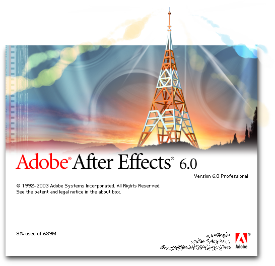 Splash in Adobe After Effects 6.0