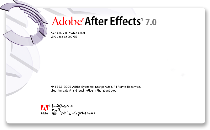 Splash in Adobe After Effects 7.0 Professional