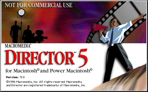 Splash in Macromedia Director 5