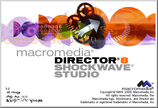 Splash in Macromedia Director 8
