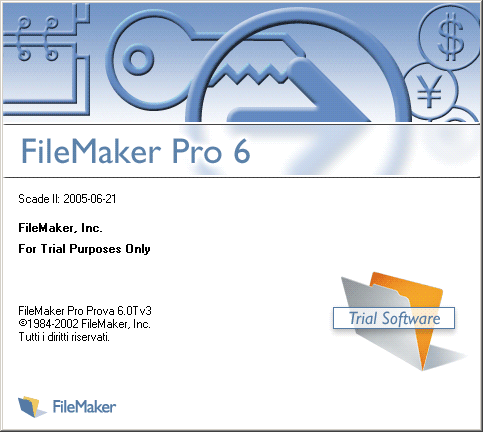 Splash in FileMaker Pro 6