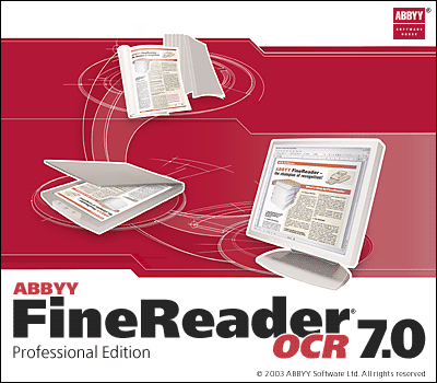 Splash in Abbyy FineReader OCR 7.0 Professional Edition