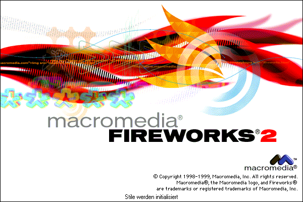 Splash in Macromedia Fireworks 2