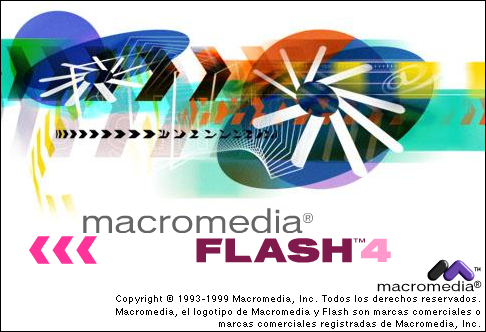 Splash in Macromedia Flash 4