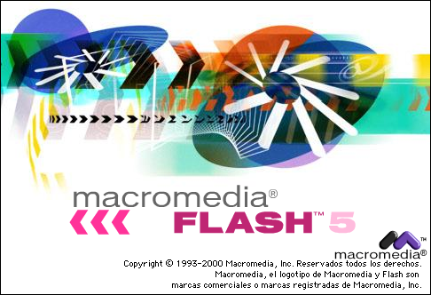 Splash in Macromedia Flash 5