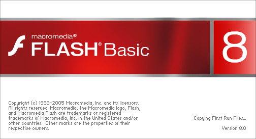 Splash in Macromedia Flash Basic 8