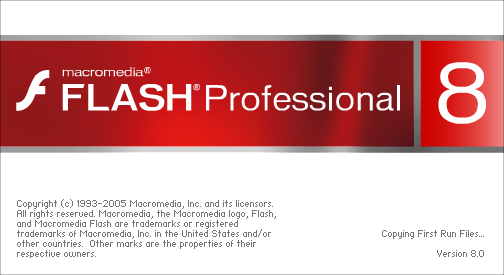 Splash in Macromedia Flash Professional 8