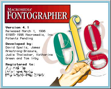 Macromedia Fontographer 4.1