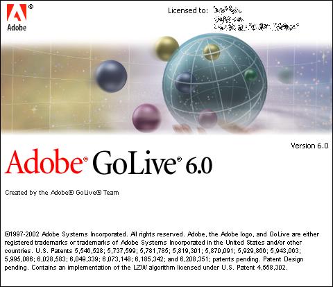 GUIdebook > Splashes > GoLive