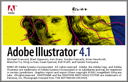 Splash in Adobe Illustrator 4.1