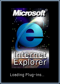 Splash in Internet Explorer 3.01
