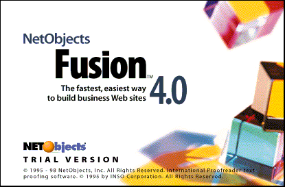 Splash in NetObjects Fusion 4.0