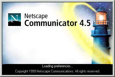netscape navigator 4 5 Gallery
