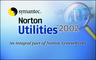 Splash in Norton Utilities 2002