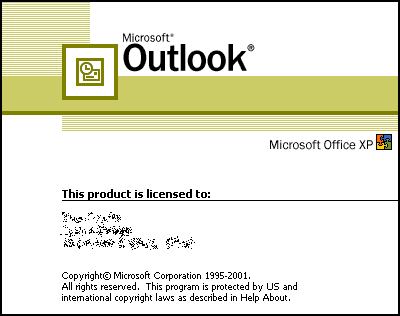 Microsoft Outlook 2007 License Code