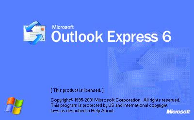 outlook express  6