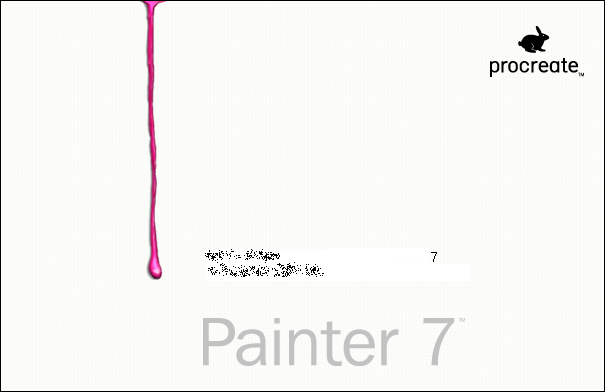 Splash in Painter 7