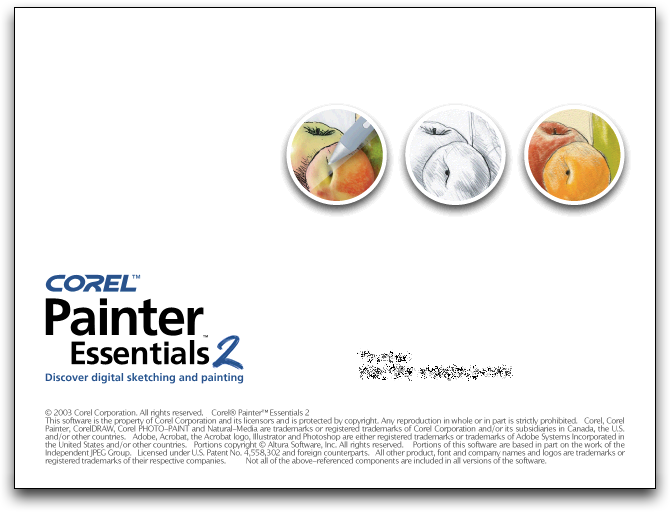 Splash in Corel Painter Essentials 2