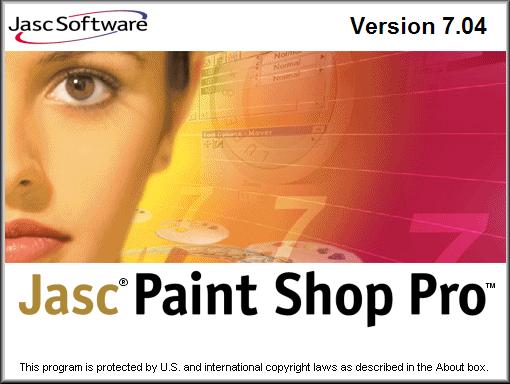 Splash in Paint Shop Pro 7