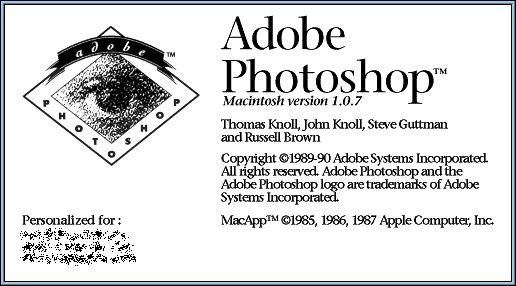 Splash in Adobe Photoshop 1.0.7