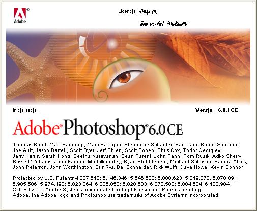 Splash in Adobe Photoshop 6.0