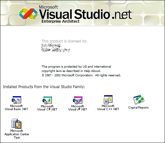Splash in Visual Studio .net 2003