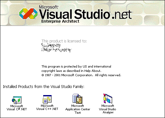 Splash in Visual Studio .net