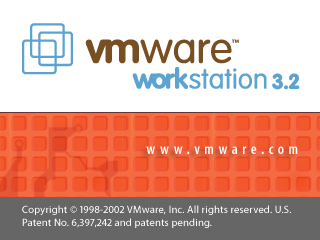 Splash in VMware Workstation 3.2