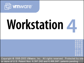 Splash in VMware Workstation 4